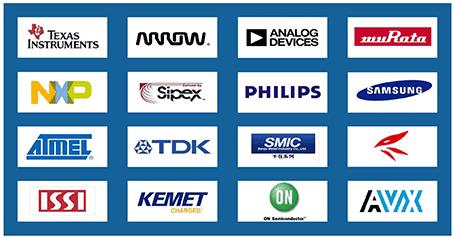 与ATER合作的国际顶级品牌图组