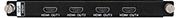 AGP-P-4O-HDMI HDMI输出板卡